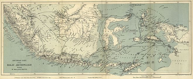 Malay Archipelago map